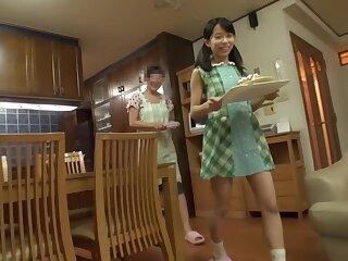 Non-native Japanese girl Mizuki roughly Gung-ho cunnilingus, college JAV pellicle
