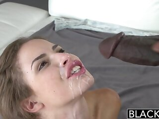 BLACKED Teen Natasha WhiteThreesome just about Twosome Carnal Dicks