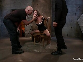 Hot Tie the knot is Kidnapped Romp Fucked together fro Almighty stay away from relative all over Anal Creampie