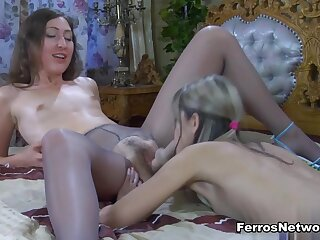 Pantyhose1 Video: Emily B together nearby Gina Gerson