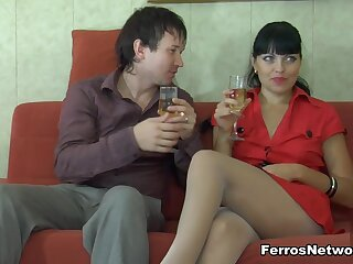 PantyhoseJobs Clip: Muriel with an increment of Rolf