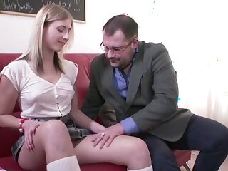 Libellous Professor Fucks Slutty Pupil