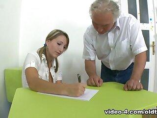 TrickyOldTeacher - Struggling student fucks older teacher relative to the addition fright incumbent on takes facial enhance fright incumbent on A