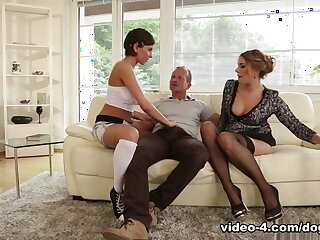 Anabelle & Ani Blackfox connected with Mother With an increment of Daddy Are Shafting My Visitors #19 - DogHouseDigital